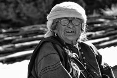 Old Woman Badrinath Uttarakhand India