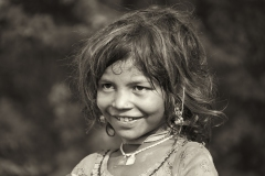 Gipsy Girl Udaipur Rajasthan India