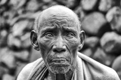 Old Konso Blind Man Doketu Ethiopia