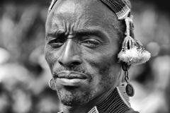 Hamer Portrait Jinka Omo Valley Ethiopia