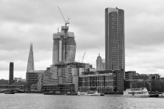 The Shard The, One Bank Street, Shakespeare Tower View from Tamigi River England