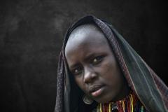 Erbore Woman Omo Valley Jinka Ethiopia