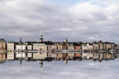 Reflection Landscape of Stockolm Sveden