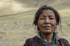 Changpa Tibetan Women Tso Moriri Ladakh