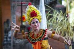 Barong Dancer Bali Indonesia