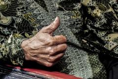 Hand Greeting Sulawesi Indonesia