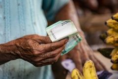 Hand and Money Bali Indonesia