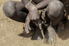 Hands at Rest Omo Valley Ethiopia