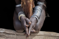 Hands Folded Omo Valley Ethiopia