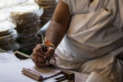 Hands Writing Amristar Punjab India