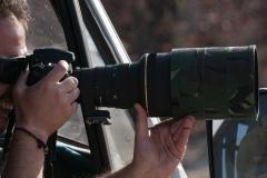 Hands Photographing Etosha Namibia