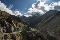 Highest Road Landscape Ladakh India