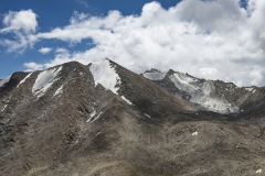 Highest Himalayan Peaks Khardung La Pass View Ladakh India