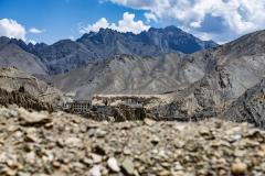 Lamayuru Monastry Landscape Ladakh India