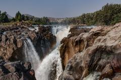 Epupa Waterfalls Landscape Kunene Region Kaokoland Namibia