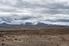Sabancaya Plateau Landscape Perù