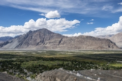 Nubra Valley Landscape Ladakh India