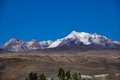 Orcopampa Plateau Landscape Perù