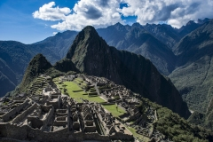 Machu Picchu Landscape Urubamba Province Perù