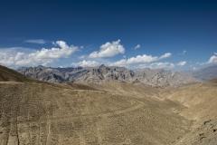 Tanglang La Valley Landscape Ladakh India