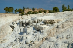 Pamukkale Thermal Waters Terrace Denizli Province Turkey