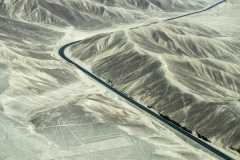 Nazca Lines Geoglyphs Aerial Perù