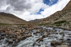 Nubra Valley River Landscape Ladakh India