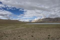 Tso Moriri Valley Landscape Ladakh India