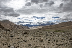 Tso Moriri Plateau Landscape Ladakh India