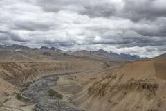 Landscape from Lungalacha La Pass Ladakh India