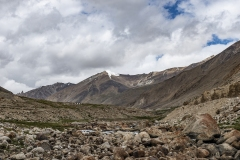 Zanskar Valley Plateu View Ladakh India