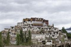 Thiksey Monastery Landscape Ladakh India