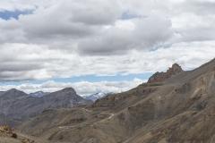 Road for Zanskar Pass View Ladakh India
