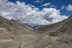 Zanskar Valley Landscape Ladakh India