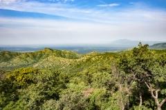 Omo Valley Landscape Oromo Land Ethiopia