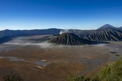 Bromo Volcano Landscape Java Indonesia