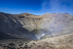 Bromo Volcano Crater View Java Indonesia