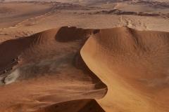 Sossusvlei Dunes Aerial Landscape Namibia