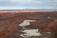 Dead Valley Sossusvlei Aerial Landscape Namibia