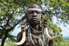 Mursi Hamer Warrior Traditional Head Ornament Omo Valley Turmi Ethiopia