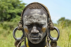 Hamer Warrior Traditional Head Ornament Omo Valley Ethiopia