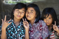 Girls Portrait in Marangkee Sulawesi Indonesia
