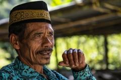 Toraja Man Tibusan Sulawesi Indonesia