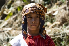 Toraja Boy near Roni Sulawesi Indonesia