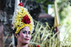 Barong Dancer Portrait Ubud Bali Indonesia