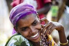 Borana Woman Smile Yebelo Ethiopia
