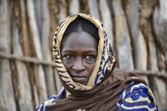Borana Woman Portrait El Sod Ethiopia