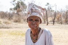Old Woman San Tsumkwe Otjozondjupa Region Namibia