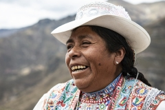 Woman Portrait Pampachiri Perù