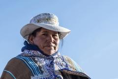 Peruvian Woman Pampachiri Perù